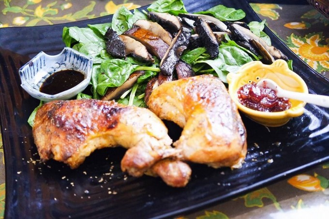 Tasty grilled chicken with easy recipe ~