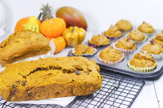 Pumpkin Loaf with Raisin ~