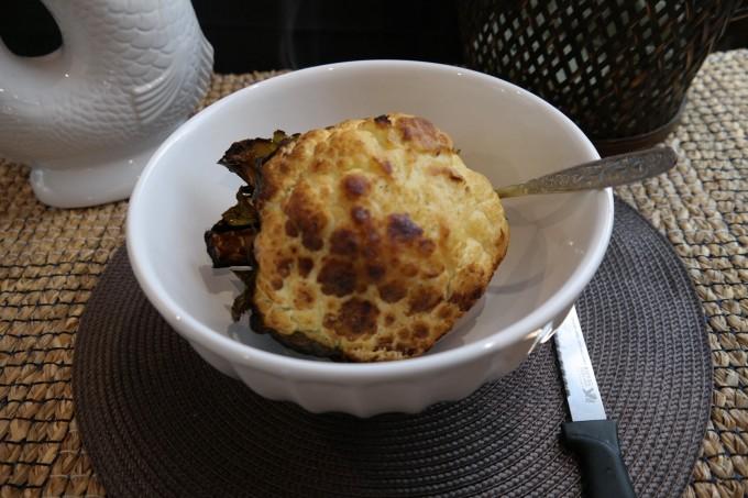 Baked Cauliflower with Sea Salt ~