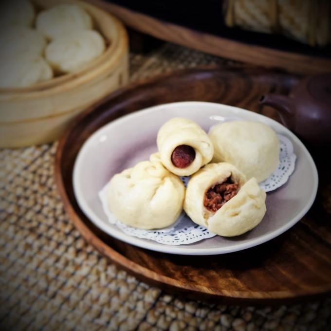 Onion Corn Beef Buns~咸牛肉包子