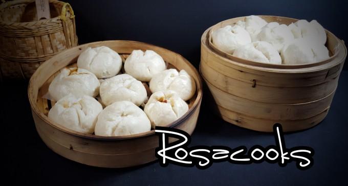 HK DIM SUM~Char Siu Bao BBQ Pork Bun