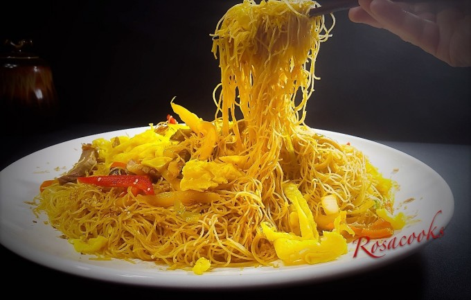 Fried Spicy Meehoon~Homestyle