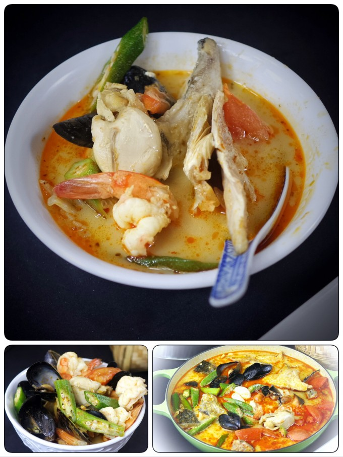 Tasty Tom Yam Seafood Soup