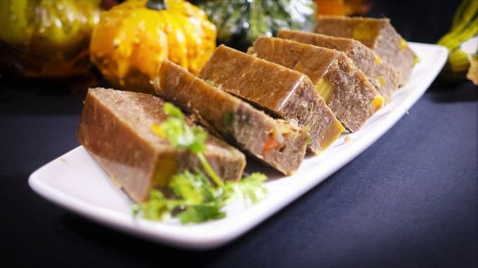Beef Aspic~Braised Beef Shank