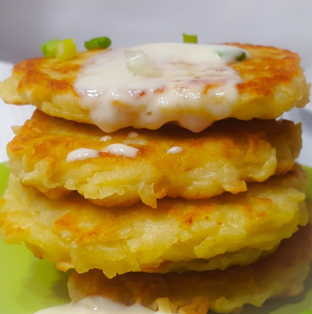 中式薯餅 @ Rosacooks~
