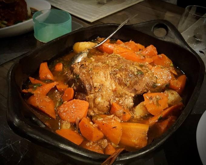 Pot Roast Lamb~holiday cuisine