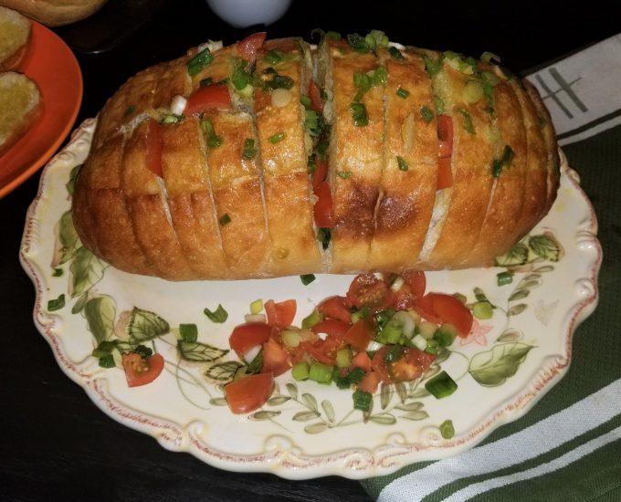 Homemade Garlic Bread@ Rosacooks