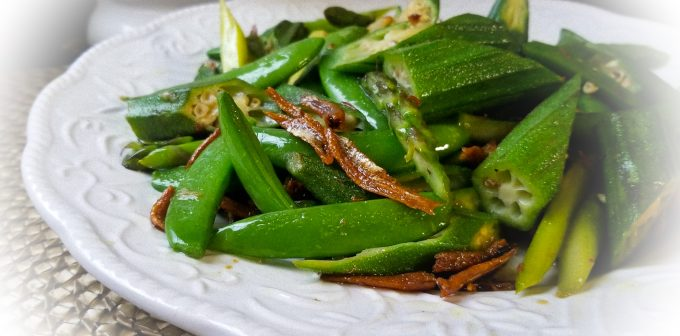 Four kings Stir-Fry Special~Mix beans with honeydew salted fish