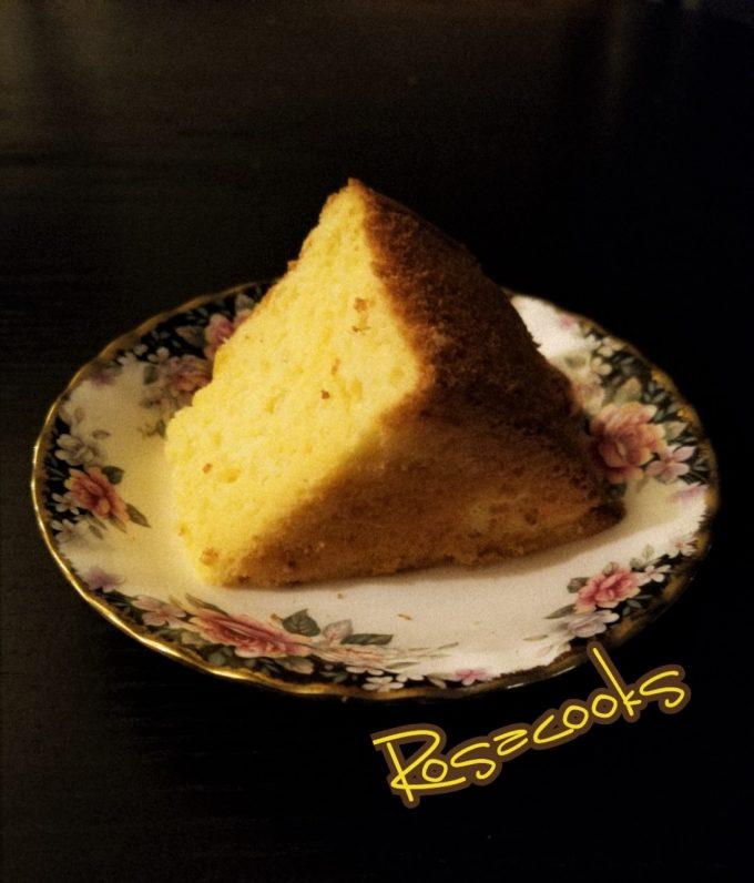 Durian chiffon Cake @ Rosacooks